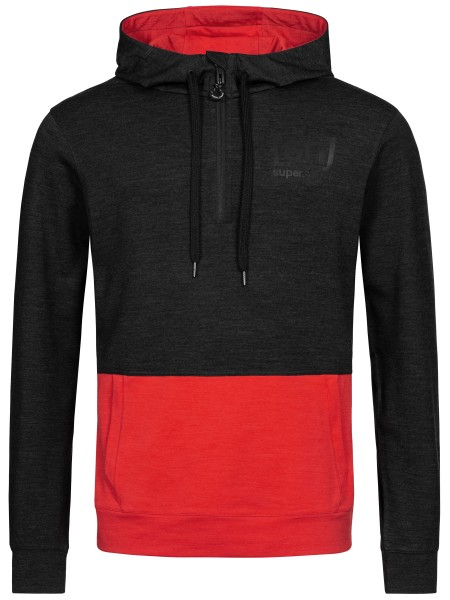 M MOVEMENT HALF ZIP